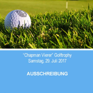 """Chapman-Vierer"" Golftrophy"