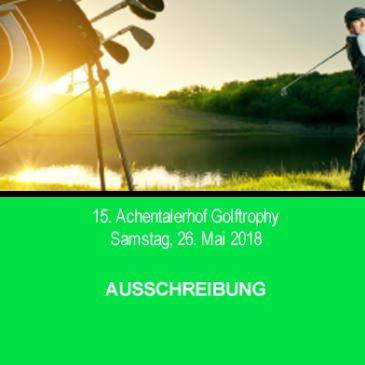 15. Achentalerhof Golftrophy