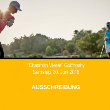 """Chapman-Vierer"" Golftrophy 2018"